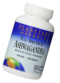 Planetary Herbals Ashwagandha Full Spectrum 570 mg,