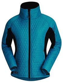 Kerrits Hex Flex Quilted Jacket - BLUE SPRUCE\MEDIUM
