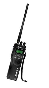 HH 38 WX ST Hand Held CB Radio with Weather & SoundTracker