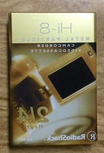Hi-8 Metal Particle Camcorder Videocassette2/4 Hours
