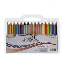US Art Supply 36 Count Professional Hi-Quality Artist
