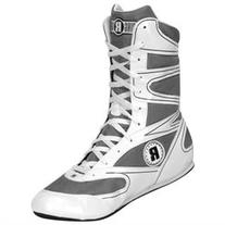 Ringside Hi-Top Undefeated Boxing Shoes - Size: 5 - White