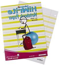 Hi-Write Wide-Ruled Notebook Paper