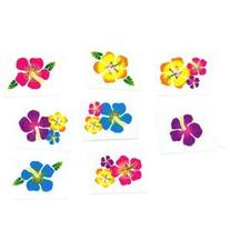 Hibiscus Glitter Tattoos by Century Novelty
