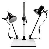 """Albinar High Load 28"""" Copy Macro Stand with 15.75""""x19"""" Base"""
