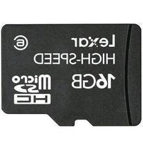 Lexar High-Speed MicroSDHC 16GB Flash Memory Card