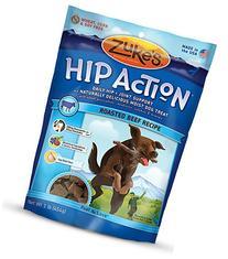 Zuke's Hip Action Beef Recipe Dog Treats - 16 oz. Pouch