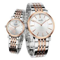 Jiusko His & Hers Couple Wrist Watches Gift Set - Swiss