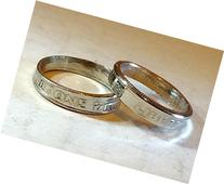 His & Hers Ring Set - 2 Dime Rings