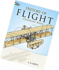 History of Flight Coloring Book