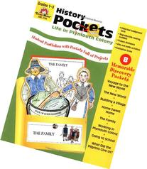 History Pockets: Life in Plymouth Colony, Grades 1-3