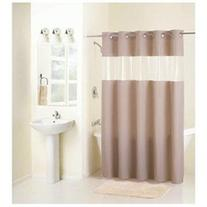 Hklss Brown Peva Curtain