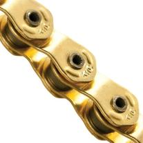 KMC HL710L Single Speed Bicycle Chain - Gold