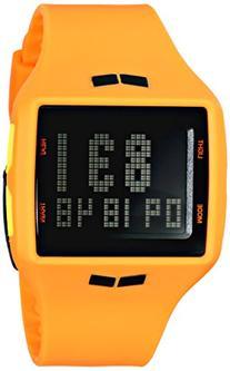 """Vestal Men's HLMDP17 """"Helm Surf & Train"""" Watch with Orange"""