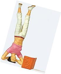 Preiser Ho Female Doing a Headstand