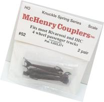 HO Knuckle Spring Coupler, IHC/RIV 4-Wheel
