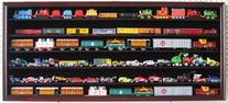 Large HO Scale Train Display Case Rack Cabinet Wall Mounted