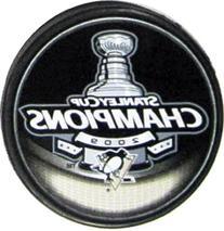 NHL Hockey Inglasco Pittsburgh Penguins 2009 Stanley Cup