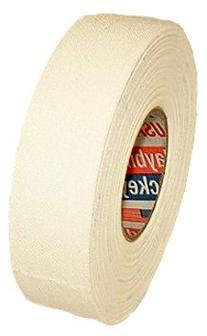 "Hockey Tape: 2 Rolls -White Cotton -1"" X 25 yds"