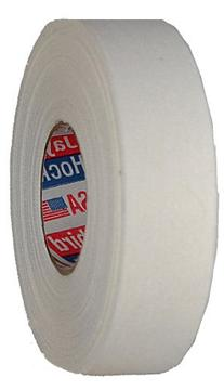 Hockey Tape: 3 Rolls White Cotton Cloth, 1 inch x 25 yds
