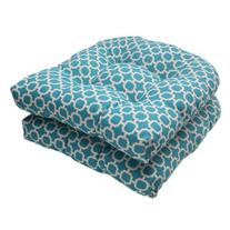 Pillow Perfect Hockley Wicker Seat Cushion