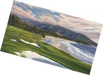 """9th Hole, Pebble Beach Golf Links 2010 U.S. Open"