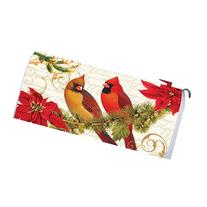 Holiday Cardinals 1721MM Magnetic Mailbox Cover Wrap