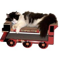 Imperial Cat Holiday Express Train Scratch and Shape