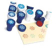 Holiday Snowflake Stamps - 24 per pack