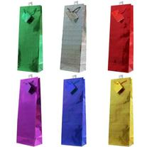 Hologram Gift Bags, 12-pc, All Occasions, Assorted Colors