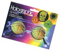Hologram Glasses Lizard Eye