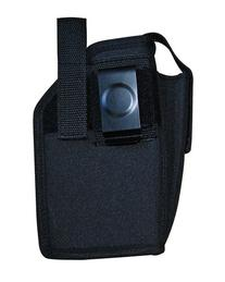 Holster Black Ambidextrous Belt Holster with Pouch Size 24