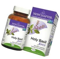 New Chapter Holy Basil Force, 60 Capsules