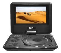 "9"" Portable DVD CD Player - High Resolution TFT Swivel"