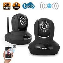 Annke 2-Packed 720P HD CCTV Wireless Network IP Camera with