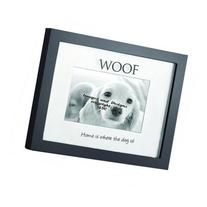 """Home Shadowbox """"Home is Where the Dog is"""" Picture Frame"""