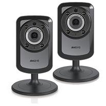 2 PACK D-Link Home Surveillance Wireless Day/Night WiFi