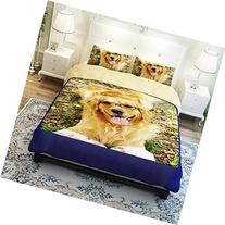 MeMoreCool Home Textile New Cute Dogs Thicken Brushed