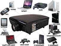 Best NEW Hd Home Theater Multimedia LCD Projector 1080-hdmi