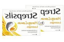 Strepsils Honey & Lemon 24 Lozenges 2 Pack