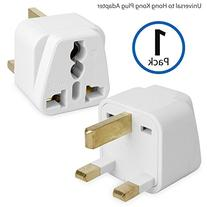 Outlet Plug Adapter, BoxWave®  Universal to Type G Socket