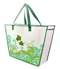 "Honu Swirl Small Insulated Tote Bag 12"" X 8"