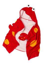 Stephen Joseph Hooded Towel, Crab