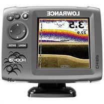 Lowrance HOOK-5x Mid/High/Downscan- HOOK-5x Fishfinder