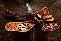 Horse Western Riding Cowboy Boots Leather Spur Straps Tack