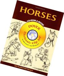 Horses CD-ROM and Book