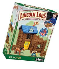 LINCOLN LOGS - Horseshoe Hill Station - 83 Pieces - Ages 3+