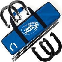 Bud Light Horseshoe Set with Carrying Case
