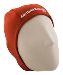 Barracuda Hothead Swim Cap, Orange, Extra Large