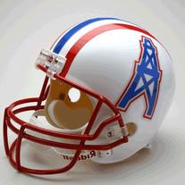 Houston Oilers 1981-96 Throwback Riddell Deluxe Replica